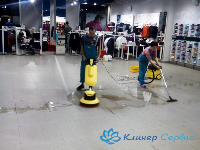 Уборка кафе и магазинов в Харькове